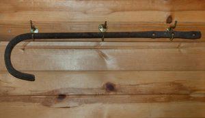 mystery christmas present metal tool walking cane