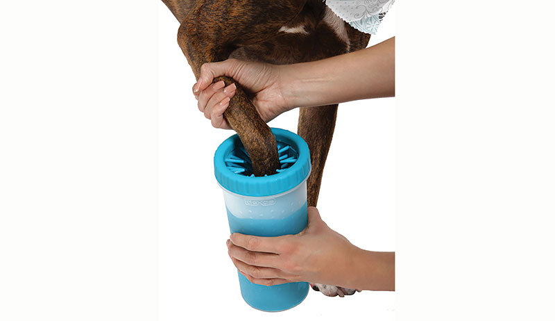 dexas dog paw cleaner