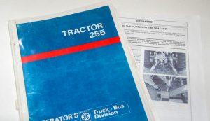 instruction tractor farm equipment manual manuals