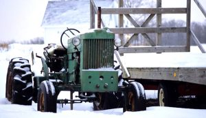 tractor tractors start starting cold weather