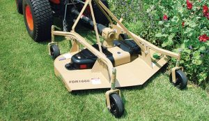 grooming mower tractor attachment rotary mower