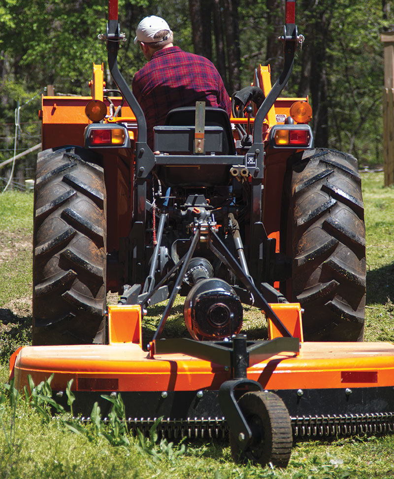 rotary mower tractor attachment bush hog brush hog