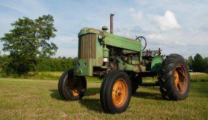 vintage john deere 40 tractor