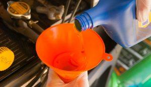 oil change funnel spring projects farm tasks