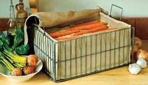 produce storage root cellar vegetables