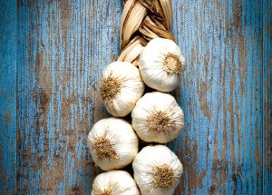 garlic long-term storage produce