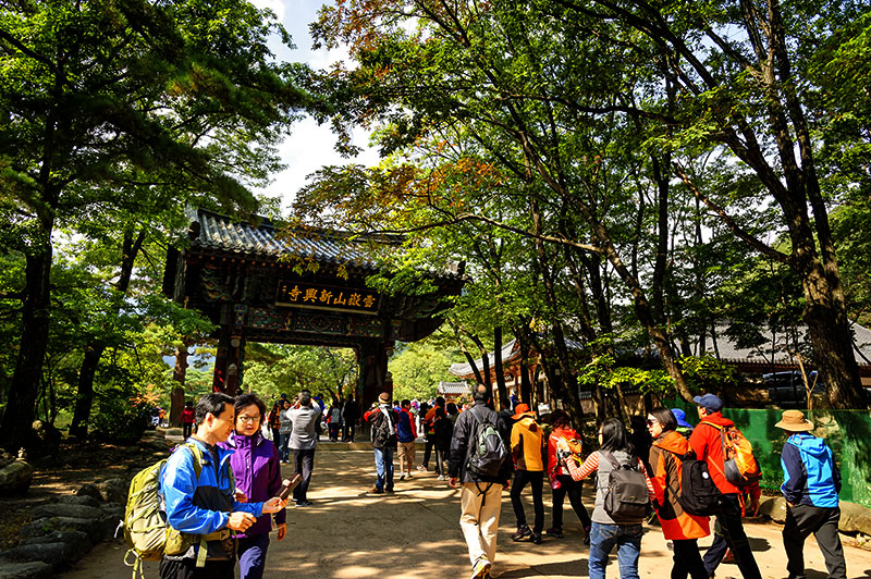 korea national park natural landscape health