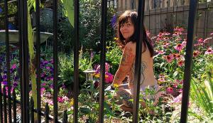 world naked gardening day instagram photos