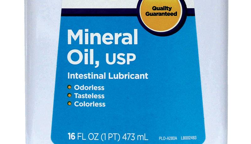 mineral oil preserving