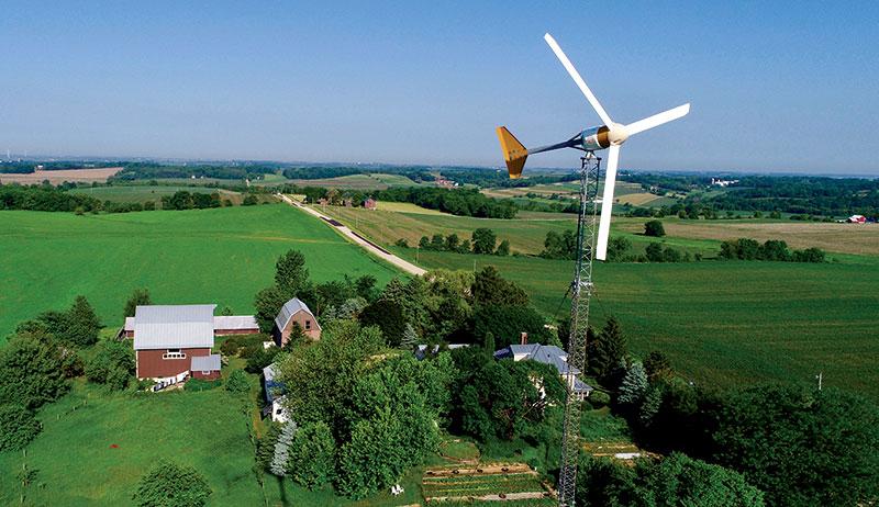 renewable energy wind turbine