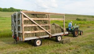 wooden trailer trailers wood farm tractor