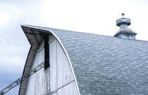 barn cupola widow's peak