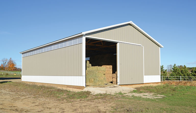 pole barns barn roof pitch