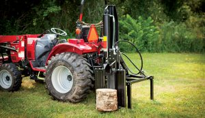 tractor attachments log splitter