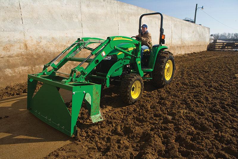 tractor attachments stall scraper