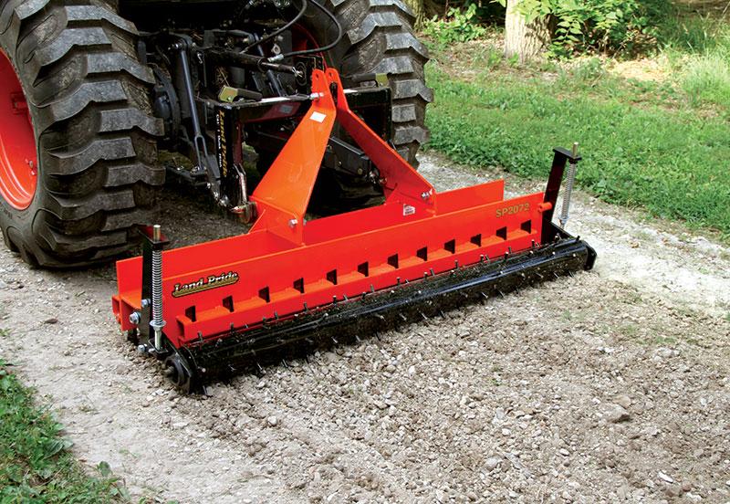 tractor attachments soil pulverizer conditioner