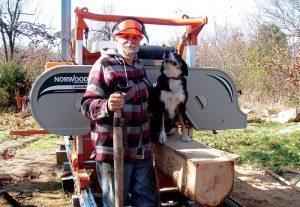 sawmill dog
