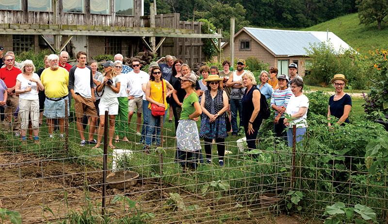 farm to table dinner tour