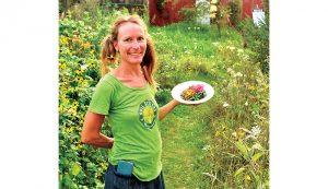 pigs farming businesswoman