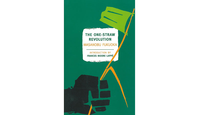 the one straw revolution book cover