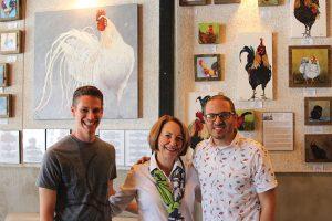 ybor city chicken art gallery