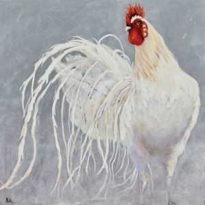 chicken painting the colonel