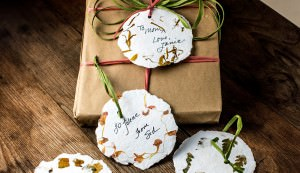 homemade paper tags
