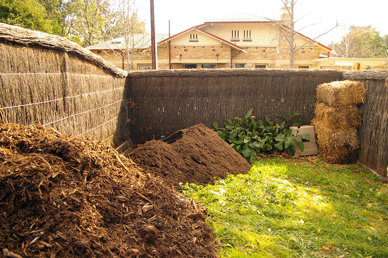 mulch and compost