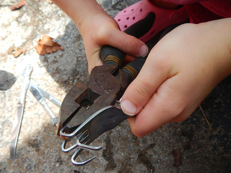 bending fork for wind chimes
