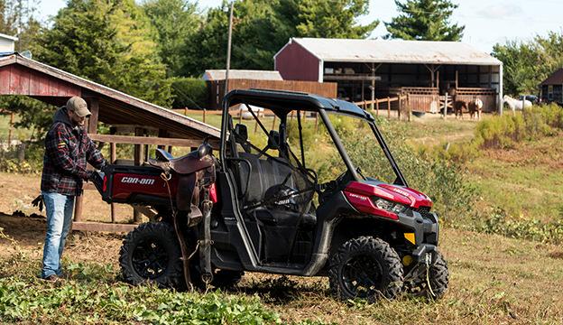 UTV on a farm