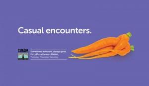 casual encounters - farmers market ad