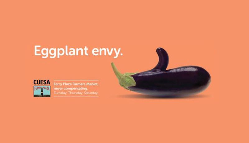 eggplant envy - farmers market ad