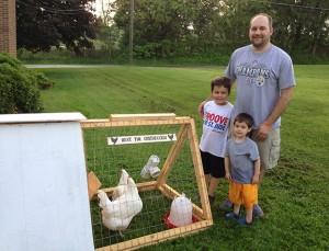 rental chickens