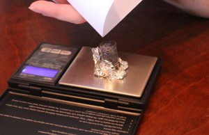 measuring copper boluses